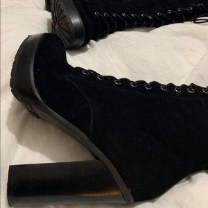 """Aldo """"Aleadien"""" Suede Lace up Boots"""